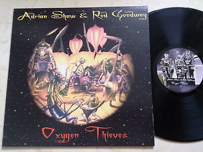 ADRIAN SHAW & ROD GOODWAY Oxygen Thieves *UK ELECTRONIC VINYL LP*NM*
