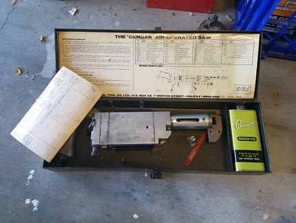 Vintage tool, Cengar air operated saw