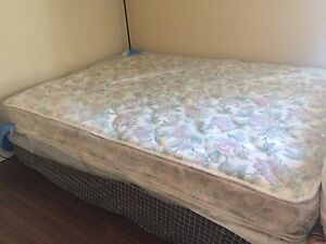 Queen Ortho Mattress, Boxspring and Bedframe
