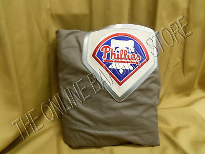 Mlb Baseball Bettwäsche (Pottery Barn Teen Philadelphia Phillies MLB Baseball Dorm Duvet TWIN Charcoal)