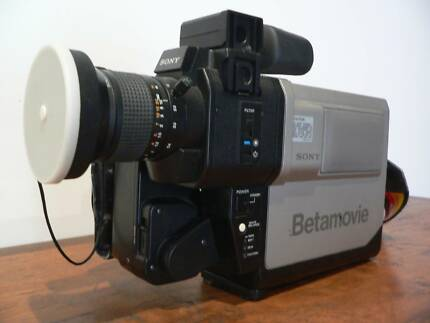 Retro Vintage Sony Beta Video Camera