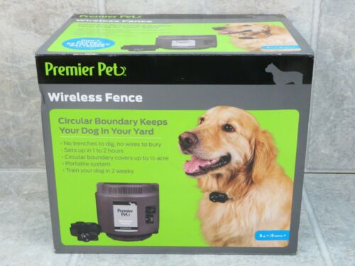 NEW Premier Pet (GIF00-16917) - Wireless Fence System Circular Boundary