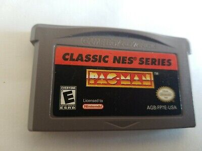 Classic NES Series Pac-Man (Cartridge Only) For GBA Gameboy Advance TESTED