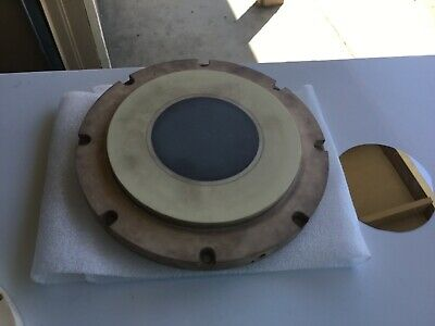 Strasbaugh 7 Af Grinder Silico Wafer Ceramic Vacuum Chuck 4 Chuck