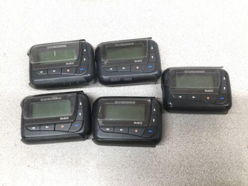 *LOT OF 5* Daviscomms BR802 Alphanumeric VHF POCSAG Pagers