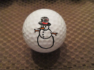 Golf Snowman (LOGO GOLF BALL-SNOWMAN)