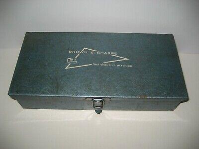 Brown Sharpe Dial Indicator Base With Nice Metal Box