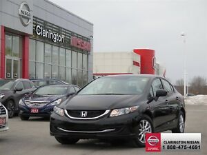 2015 Honda Civic Sedan LX CVT  17,380 km|WARRANTY INCLUDED