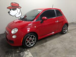 2013 FIAT 500 Sport  ****Located at Heritage Place***