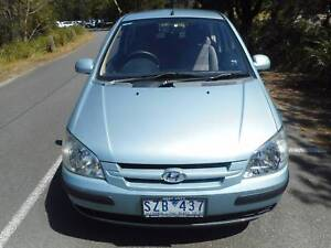 2004 Hyundai Getz Hatchback  LOW KS WITH REG AND RWC!!