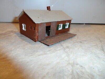 HO SCALE  SMALL WORK SHED BUILDING Ho Scale Working