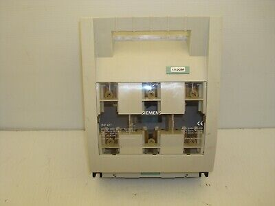 Siemens 3np 427 Disconnect Fuse Switch 250 Amp 400690 Ac 440 Dc Volts