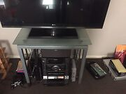 Glass TV stand Seaford Morphett Vale Area Preview