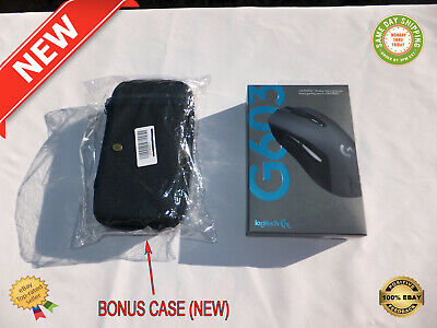 Logitech G603 Lightspeed Professional Grade Wired/Wireless Gaming Mouse + Case