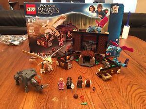 Lego Fantastic Beasts Newt's Case Of Magical Creatures