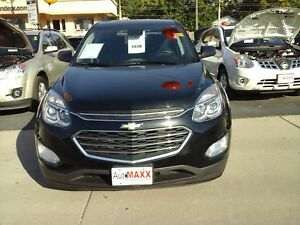2016 CHEVROLET EQUINOX LT- REAR VIEW CAMERA, HEATED FRONT SEATS,
