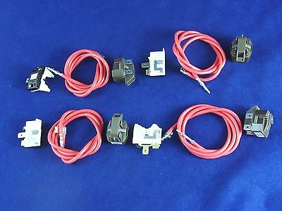 4387535  Refrigerator Relay and Overload for Whirlpool Kenmore compressor 4 Pack