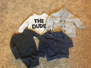 Hipster baby lot 3-6m