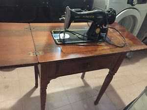 Singer Antique Fold out Sewing Machine