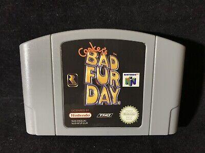 N64 / Nintendo 64 Spiel - Conkers Bad Fur Day Deutsch Modul Neuwertig