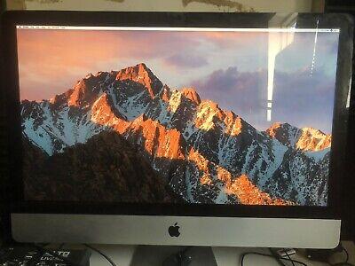 """imac 27"""" OSX Sierra 16gb Ram/Memory 1Tb Storage"""