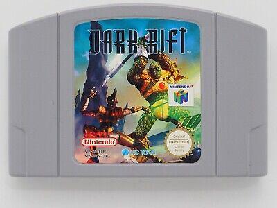 Dark Rift for Nintendo 64 N64 PAL *100% GENUINE* CART ONLY Aust. Seller