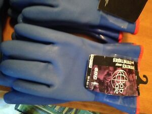 RUBBER FISHING GLOVES