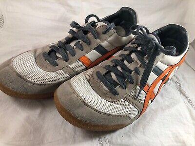 Asics Onitsuka Tiger Shoes Mens Size 10 EUR 44 Ultimate 81 Gray Orange HN201