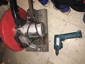 Cut off saw an Makita drill & cordless sawzall look at pics