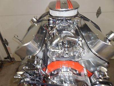 BBC 454 BIG BLOCK CHEVY ROLLER ENGINE TURN KEY  / CRATE MOTOR  CR#EHRFO 70