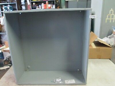 Hoffman Electrical Pull Box Enclosure Cat Ase24x24x8nk 24x 24x 8 New