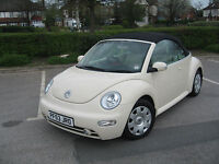 Volkswagen New Beetle by Bromley Car Showroom, Catford, London