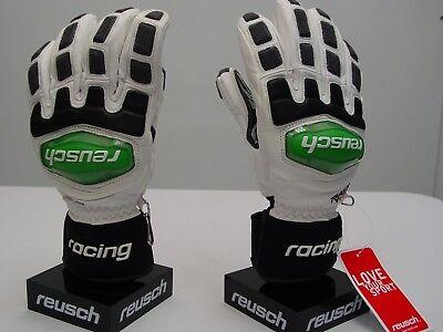 0eb5285f62d54 Reusch Leather RaceTec 13 Grand Slalom Racing Ski Gloves Medium 4211112S  SAMPLES