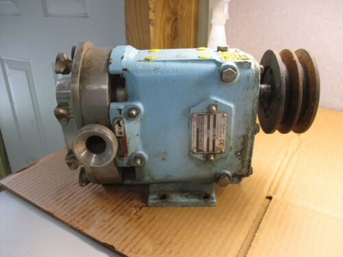 WAUKESHA CHERRY-BURRELL SANITARY PUMP MODEL#015 SERIAL#290395 00 #417208T USED