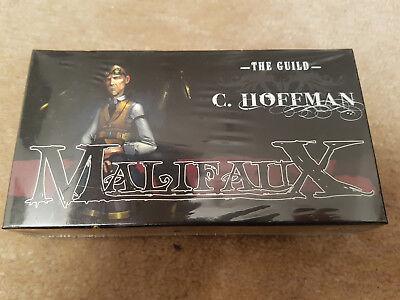 Malifaux - C. Hoffman Box - The Guild (Metall + oop), neu + ovp! Hoffman-box