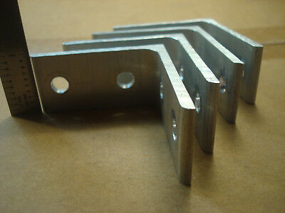 10 Series T-slot Aluminum 2 4 Hole Inside Bracket 4 Pack No Hardware Included