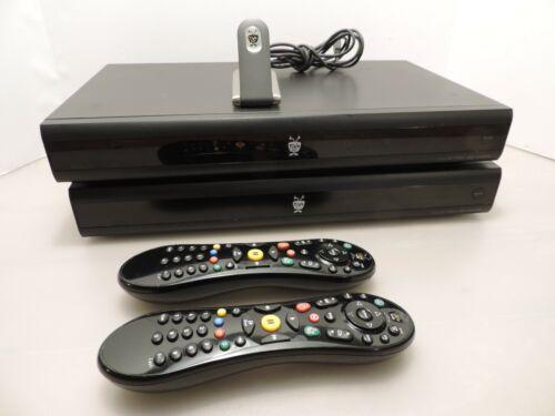 Lot of 2 TiVo Series Digital Video TV Recorders 500GB TCD746500  w/ AG0100 WiFi
