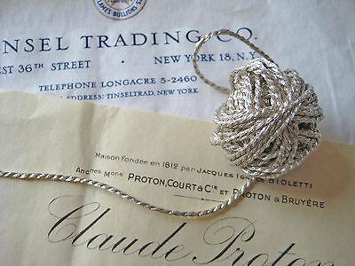 Wonderful Unused Vintage Gold Metallic Pelican Applique Millinery Lampshade