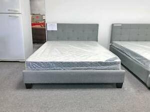 Warehouse Clearance Sale Brand New Grey Bed Frame From 179 Beds