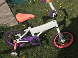 Supercycle Doodle Kids' Bike, Pink, 14-in