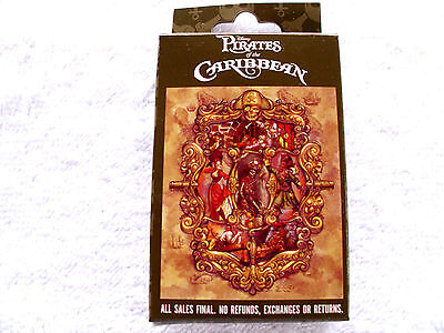 Disney * PIRATES OF THE CARIBBEAN * New & Sealed 2-Pin Mystery Box