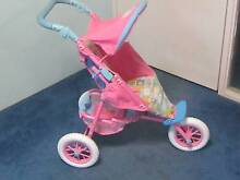 Doll's Stroller, 3 wheel Baby Born in very good condition Kewdale Belmont Area Preview