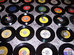 50 NEW Vinyl Records (45 RPM), Hits from the 60's.70's & 80's #3