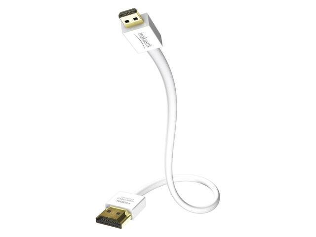 Inakustik Premium XS Micro HDMI Kabel Ethernet 3,6mm dünn integr. Repeater 5,0m