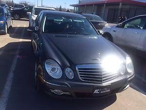 Mercedes E300 2009 4*4 low km fully equipped under warranty