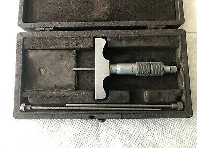 Vintage Brown Sharpe 608 Depth Micrometer