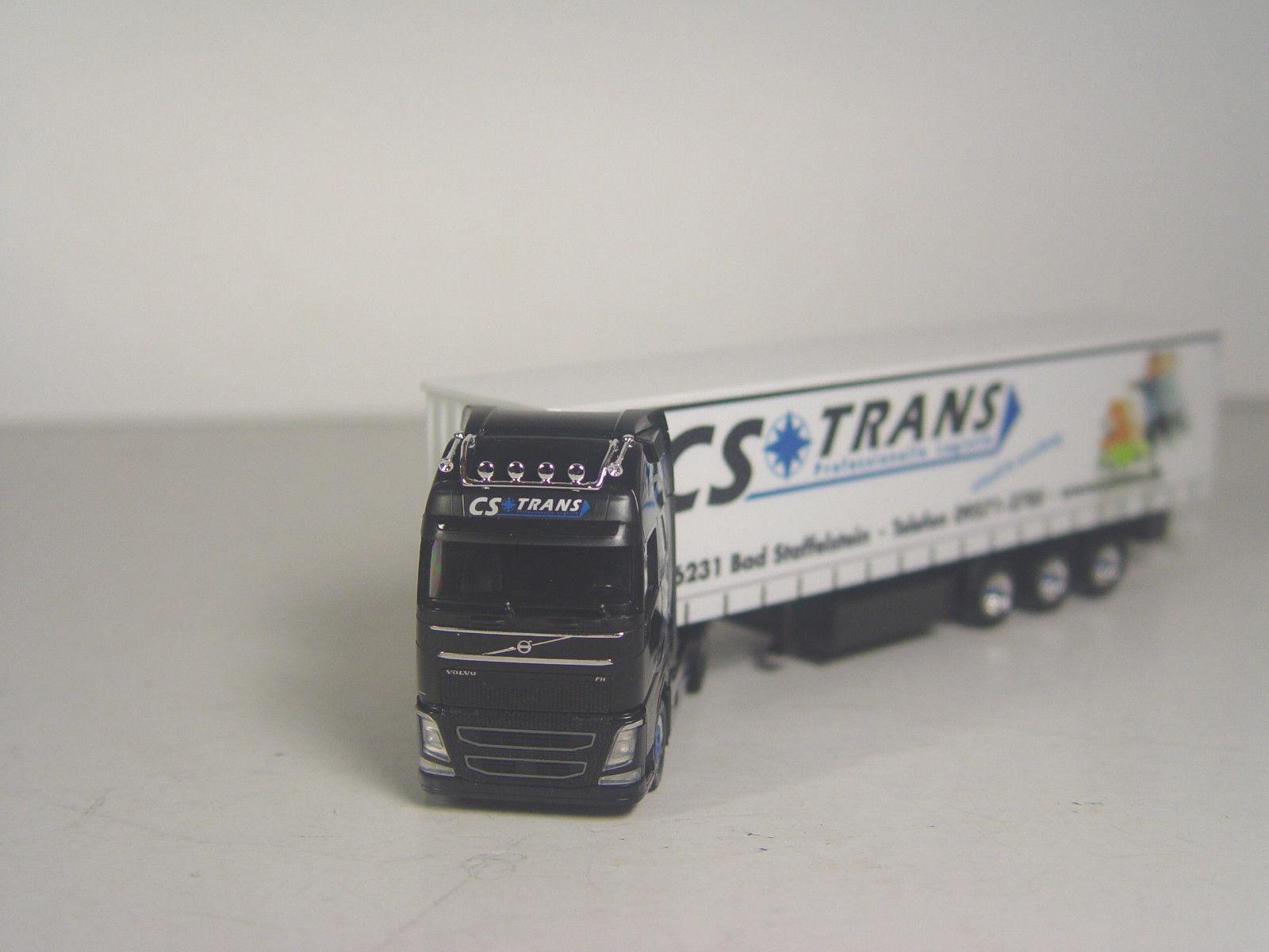 Viola Trans NEU OVP herpa 922685 Volvo FH GL XL Lebensmitteltank-Sattelzug