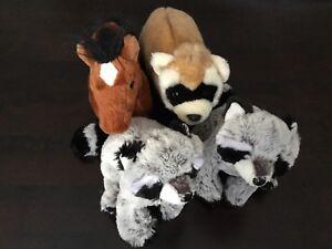 Toutou Animaux Ganz / Plush Animals - 20$ for 4