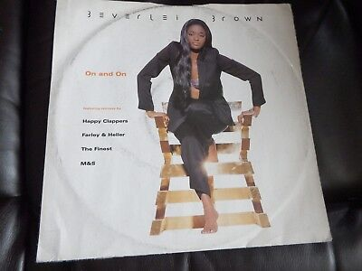 "BEVERLEI BROWN - On And On 12"" Vinyl House 1996 EXC"