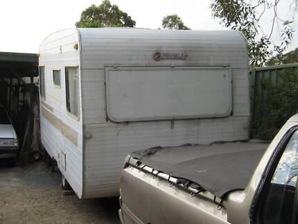 Franklin 15ft caravan $1200neg or swap